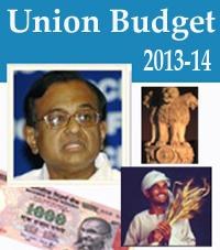 2013 Union budget of India