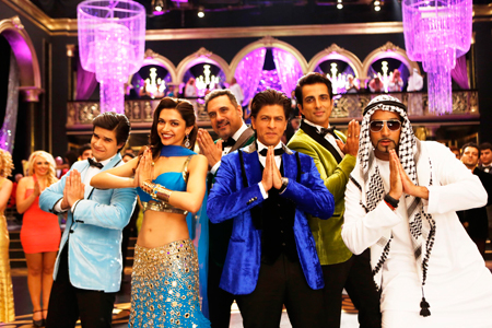 'INDIAWAALE' song from Happy New Year