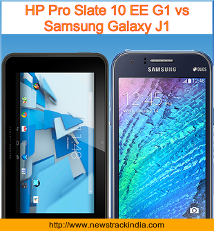 HP Pro Slate 10 EE G1 Vs Samsung Galaxy J1 Comparison Of