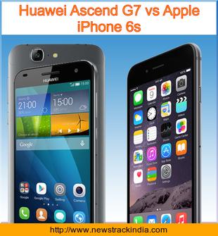Huawei ascend g7 vs iphone 6