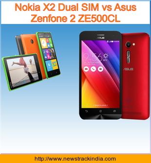 Nokia x vs asus zenfone 4, Compare Asus Zenfone 4 vs Nokia 3