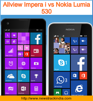 Allview Impera i vs Nokia Lumia 530 : Comparison of Features and Specification