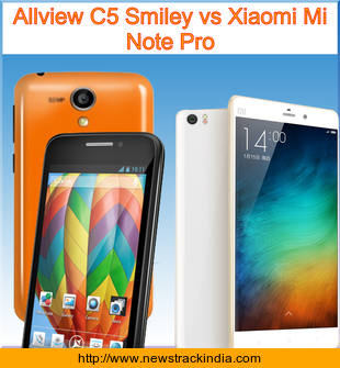 Allview C5 Smiley Vs Xiaomi Mi Note Pro Comparison Of