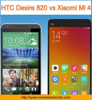 Htc desire 820 vs xiaomi mi4