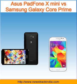Asus PadFone X mini vs Samsung Galaxy Core Prime ...