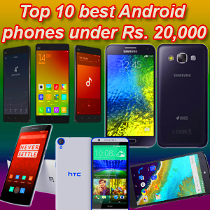 Best Mobile Phones under 20000
