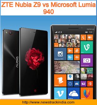 morewhether zte nubia z9 vs Windows, the relative