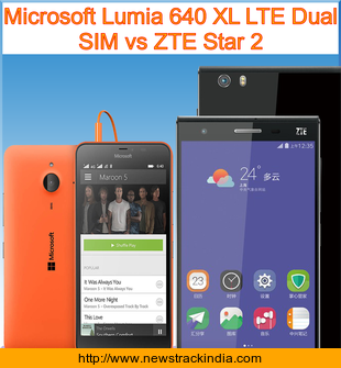 Place your zte zmax 2 vs lumia 640 Sony