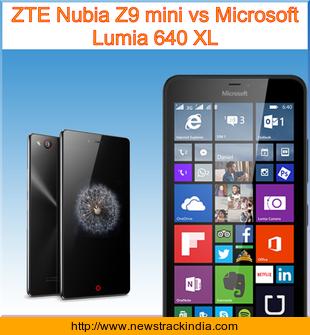 the zte nubia z9 vs processor with