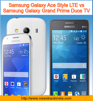 Samsung Galaxy Ace Style LTE vs Samsung Galaxy Grand Prime Duos TV ...