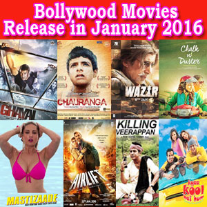 Top Bollywood Movies to Release in January 2016