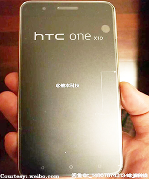 HTC One X10: Images leaked online