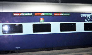 Indian Railways reserved accommodation is booked on first come first served basis