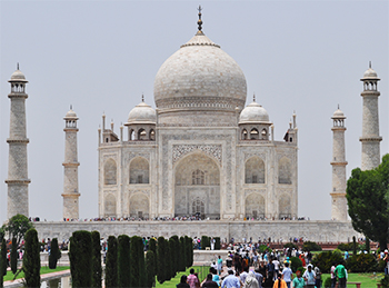 You won't be able to touch Taj Mahal in near future