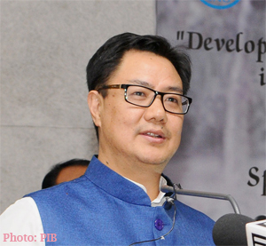 Kiren Rijiju inaugurates Special Centre for Disaster Research at JNU