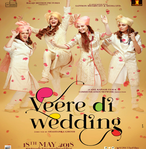 Save the Date for Veere Di Wedding - 18th May