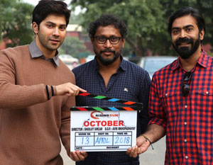 Shoojit Sircars October to release on 13th April, 2018