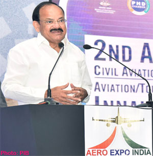 India set to become third-largest aviation market in the world: Vice President of India