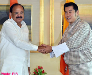India is committed to partner Bhutan in its socio-economic development: Venkaiah Naidu