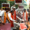 Shiv Sena protest against visit of Chinese Premier to India