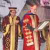 Pranab Mukherjee confers Doctorate degree to Afghanistan President Hamid Karzai