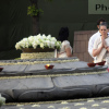 Sonia Gandhi pay floral tribute to late husband Rajiv Gandhi on his 22nd Death Anniversary