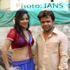 Rajpal Yadav and Bharti Sharma shoots for film Babuji Ek Ticket Bambai