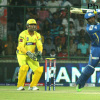 IPL 6 in pics: MI player Dwayne Smith tried hard to win the match against CSK for his team