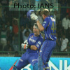 IPL 6 in pics: RR batsman Hodge and Faulkner celebrates win against SRH