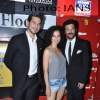 Dino Morea, Kangna Ranaut and Anil Kapoor attends Ishkq in Paris premiere