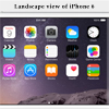 iPhone 6 feature special landscape for the Home screen