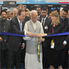 PM Modi inaugurating the Make in India Centre