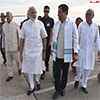 PM Modi being received by the Governor of Assam