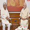 Chief Minister of Bihar calls on the Prime Minister Modi