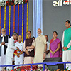 PM Modi at the public meeting organised to mark the inauguration of SAUNI project