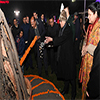 Pranab Mukherjee at the Lohri Festival Celebration at President's Estate